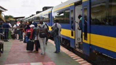 Photo de SETRAG : Reprise du trafic ferroviaire