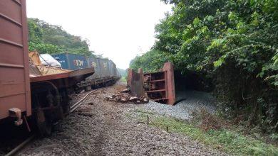 Photo de SETRAG : Un déraillement de train s'est produit entre les gares de Mbel et Oyan