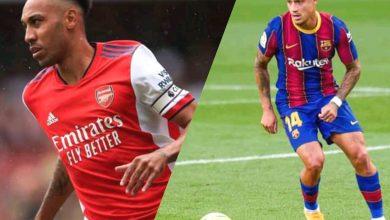 Photo de FC Barcelone / Mercato:La proposition d'échange entre PierreEmerickAubameyang et Philippe Coutinho tombe à l'eau