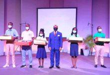 Photo de Concours national des meilleurs élèves :Des dizaines de lauréats récompensés par Ali BongoOndimba