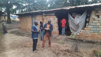 Photo de Nyanga / Tchibanga:l'association Relais des Justes Centristes apporte son soutien aux veuvesHélèneetMartine